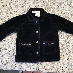 🎉 5/$15 Arizona velvety baby/toddler jacket